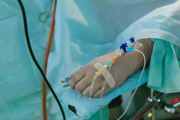 A day in hospital – freedom and control